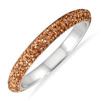 Brown Crystal Rhinestone Bangle (Large)