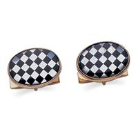 14k Yellow Gold Cuff Links