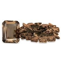 3.15 Carat Emerald Cut Smokey Quartz Gemstone