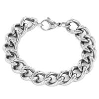 Crucible Stainless Steel Classic Curb Link Bracelet