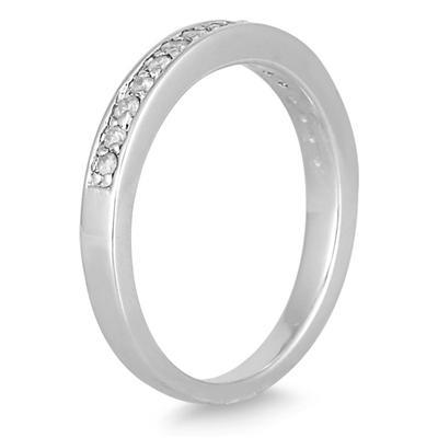 3/4 Carat T.W Diamond Bridal Set in 10K White Gold