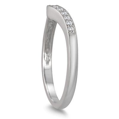 5/8 Carat TW Diamond Halo Bridal Set in 10K White Gold