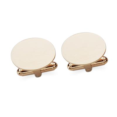 23 Karat Gold Electroplate Swival Action Cuff Links