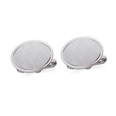 Sterling Silver Swival Action Cuff Links