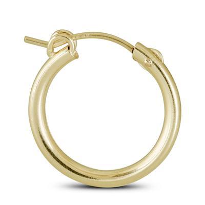 14K Yellow Gold Filled Hoop Earrings (19mm)