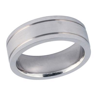 14K White Gold Classic Wedding Ring
