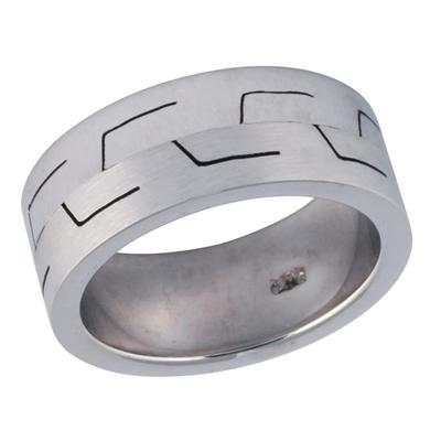 14K White Gold InStyle Wedding Ring