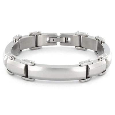 Stainless Steel High Polished Men