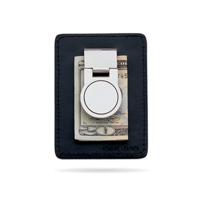 23k Rhodium Electroplated Money Clip/Card Case