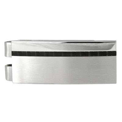 Lead with Polished Strip Stainless Steel Money Clip
