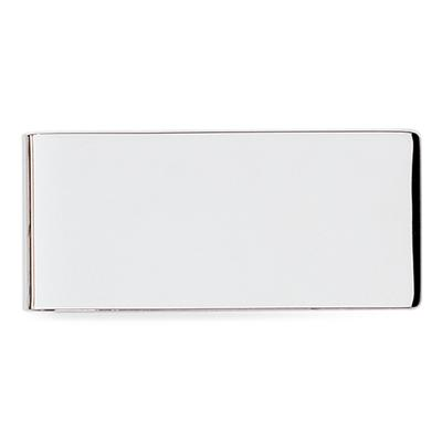 Plain Silver Polished Money Clip