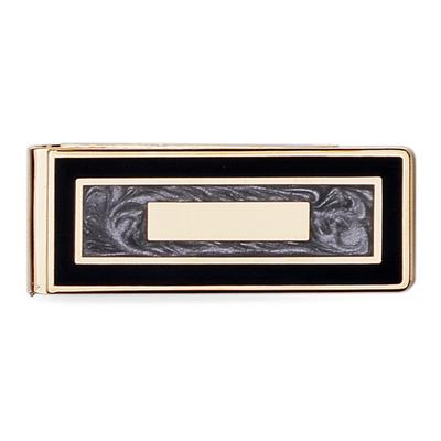 Black & Grey Money Clip
