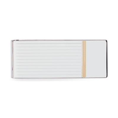 23k Rhodium Electroplated Money Clip
