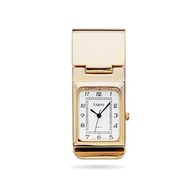 23k Gold Electroplated Money Clip Watch