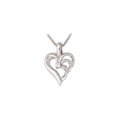 Triarch Diamond Heart Pendant