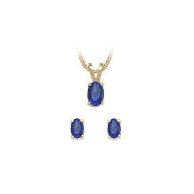 Stud Sapphire Set