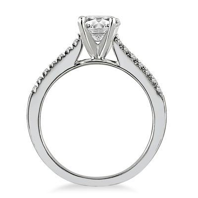 1 1/8 Carat TW Diamond Ring in 14K White Gold (J-K Color, I2-I3 Clarity)