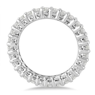 10K White Gold Diamond Eternity Band (.81 - .99 CTW)
