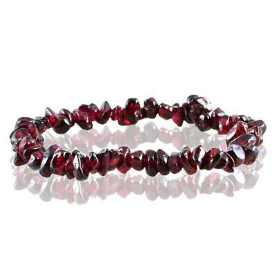 35 Carat All Natural Uncut Genuine Garnet Bracelet Genuine