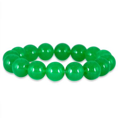 200 Carat All Natural Jade Bead Bracelet