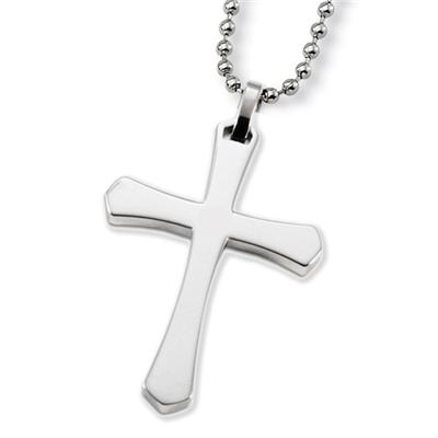 Stainless Steel Unisex Cross