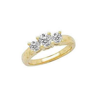 1.00 ct Three-Stone Anniversary Ring