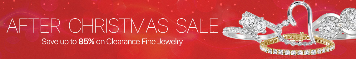 After Christmas Jewelry Clearance