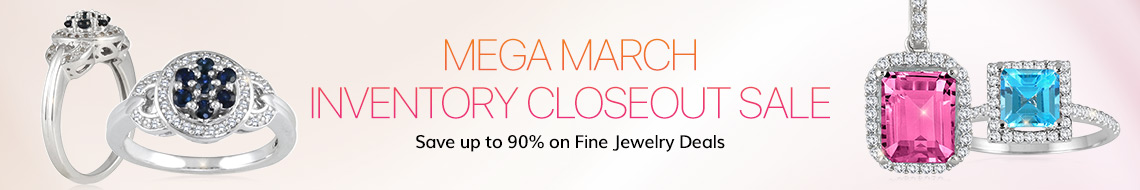 Mega March Diamond Jewelry Sale