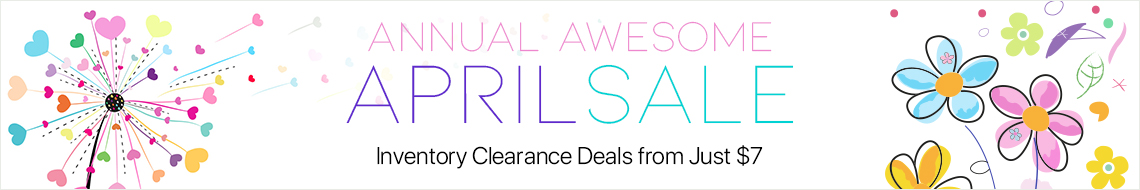 Annual Awesome April Sale