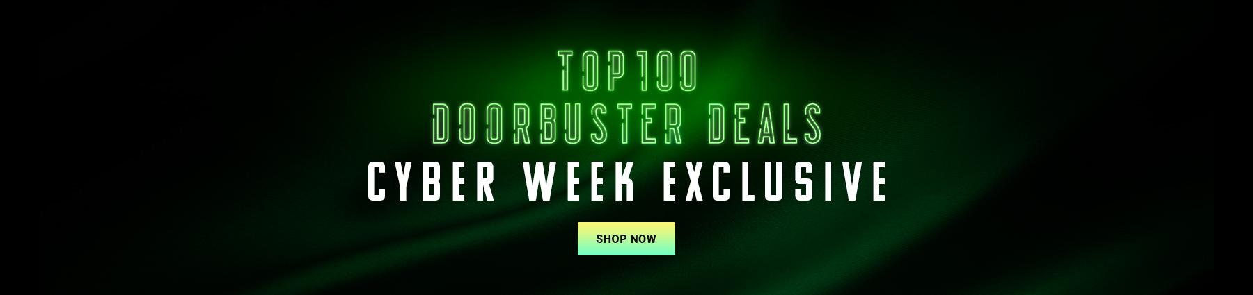 Top 100 Cyber Week Door busters