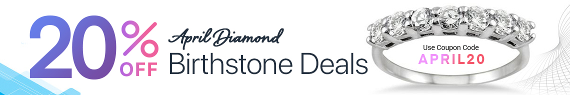 April Diamond Birthstone Deals