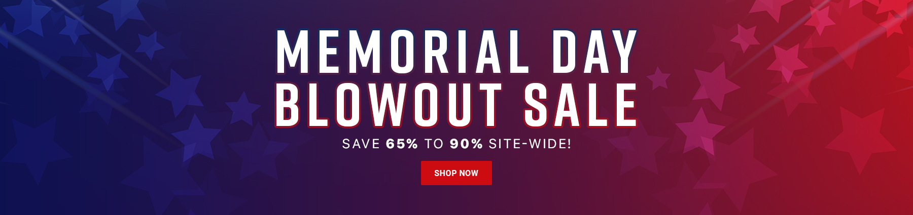Memorial Day Blowout Sale