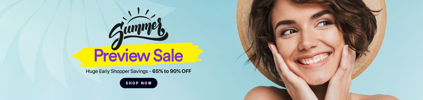 Summer Preview Sale