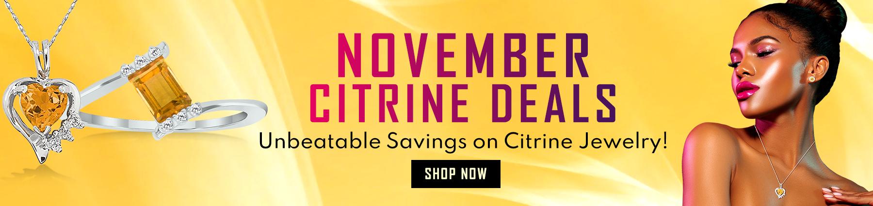 November Birthstone Deals