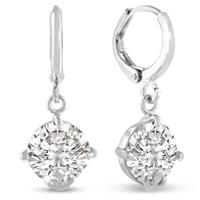 5 Carat Swarovski Elements Crystal Drop Earrings
