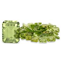 1.80 Carat Emerald Cut Peridot Gemstone