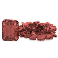 3.80 Carat Emerald Cut Garnet Gemstone