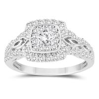 3/4 Carat TW Diamond Engagement Ring in 10K White Gold