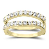 1 Carat TW Diamond Insert Ring in 14K Yellow Gold
