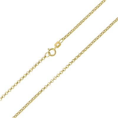 10K Yellow Gold 1.9mm Classic Rolo Chain with Spring Ring Clasp - 20 Inch