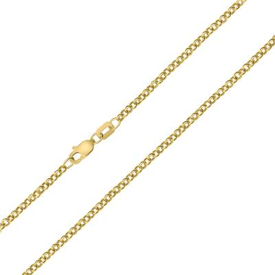 10K Yellow Gold 2.3MM Classic Rolo Chain with Lobster Clasp - 18 Inch