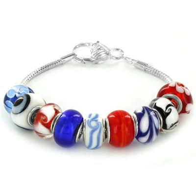 Winter Special Glass Bead Bracelet