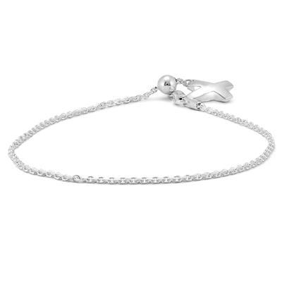 9cca75ac911c5 X Charm Bolo Chain Bracelet in .925 Sterling Silver - BRF57227