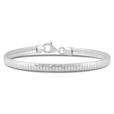 .925 Sterling Silver Rolex Bracelet