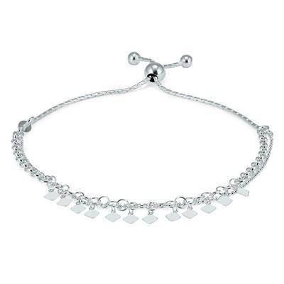 Charm Bolo Bracelet in .925 Sterling Silver