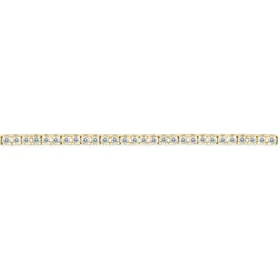 1 Carat TW Diamond Tennis Bracelet in 14K Yellow Gold