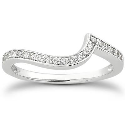 3/5 Carat Diamond Bridal Set in 10K White Gold
