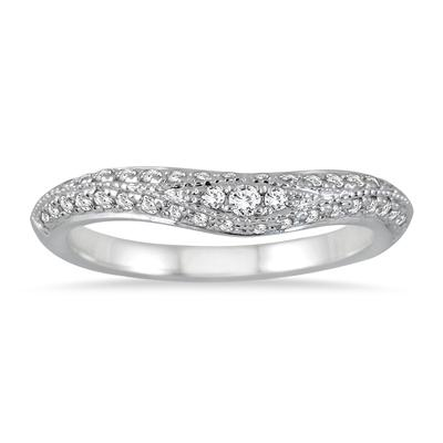 AGS Certified 1 1/2 Carat TW Diamond Bridal Set in 14K White Gold (J-K Color, I2-I3 Clarity)