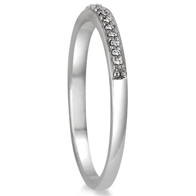 1/2 Carat TW Diamond Halo Bridal Set in 10K White Gold