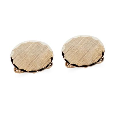 23k Gold Electroplated Cuff Links